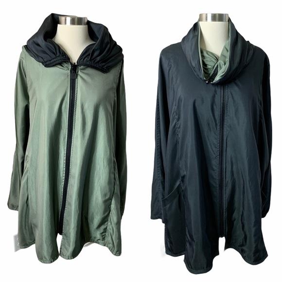 Mycra PAC Reversible Raincoat Fits Like XL/XXL
